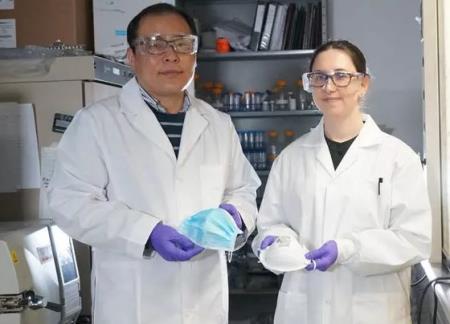 Hai nhà nghiên cứu Hyo-Jick Choi (phải) và Ilaria Rubin (trái)