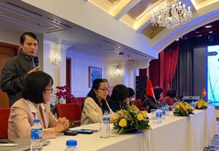 TS Lê Quang Hòa chia sẻ thông tin về kết quả nghiên cứu. Ảnh: VNE