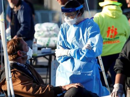 Mỹ: Số ca nhiễm COVID-19 vượt 300.000 nghìn, hai tuần tiếp theo diễn biến dịch nghiêm trọng