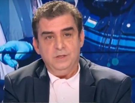 Bác sĩ Yves Cohen trả lời phỏng vấn truyền hình hôm 3/5. Ảnh: BMF TV